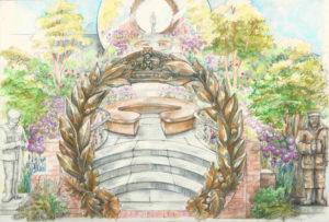 Commonwealth War Graves Commission: Centenary Garden, David Domoney