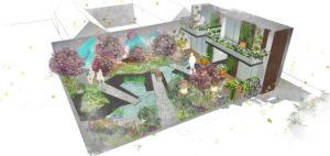 RHS Greening Grey Britain garden